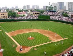 Foto di un campo da baseball per non vedenti